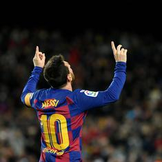 Data check: Incredible numbers that show the influence Messi has had on Barcelona