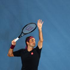 Qatar Open: Roger Federer returns to tennis after 13 months, takes on Dan Evans