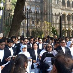 'Constitutionally wrong': Lawyers read out Preamble outside Bombay High Court to protest against CAA