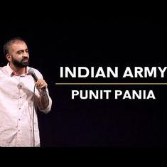 'People demanding war like it's Season 2 of Sacred Games': Comic Punit Pania on Indians and the army