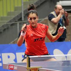 Table Tennis: Manika Batra puts India one win away from Tokyo Olympics; men's team advances too