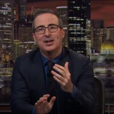 Watch: Satirist John Oliver discusses news that should (or shouldn't) qualify for push notifications