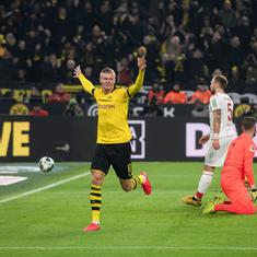 Bundesliga: Haaland impresses again with brace as Dortmund beat Cologne to move to third place