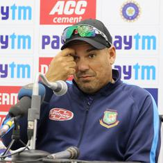 Bangladesh coach Russell Domingo hits out at Pakistan's 'average' pitches after T20 series defeat
