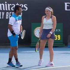 Indian tennis: Bopanna-Kichenok, Paes-Ostapenko advance in mixed doubles at Australian Open