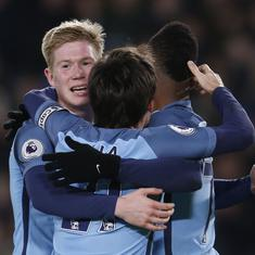 Manchester United, City cruise into fifth round of FA Cup with resounding wins; Liverpool held