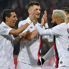 Neymar dedicates goal to Kobe Bryant as PSG extend lead at top with win against Lille
