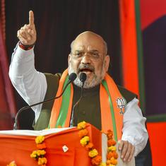 'Petty politics': Amit Shah attacks Congress for criticising Centre's measures to fight Covid-19