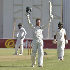 Second Test: Sean Williams slams century as Zimbabwe dominate opening day against Sri Lanka