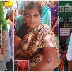 In Amaravati, farmers protesting Andhra's new three-capital plan complain of brutal police action