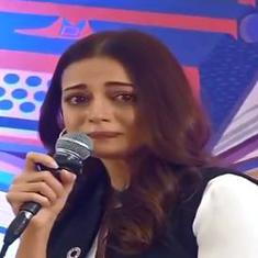 Watch: Actor Dia Mirza broke down in tears during climate emergency discussion at JLF2020