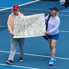 Australian Open: Navratilova, McEnroe pulled up for banner asking Margaret Court arena to be renamed