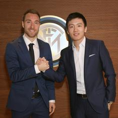 Football: Christian Eriksen joins Inter Milan on three-and-half-year deal from Tottenham Hotspur