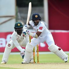 Second Test: Bad light interrupts solid Sri Lankan start after Zimbabwe go past 400 on day two