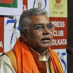 BJP's Dilip Ghosh asks party workers to 'strike back' TMC workers with bamboo sticks after clashes