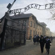 Watch: Young interfaith Germans visit Auschwitz concentration camp to learn history of oppression