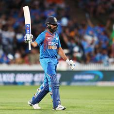 My aim is that India should win at least two out of the next three World Cups: Rohit Sharma