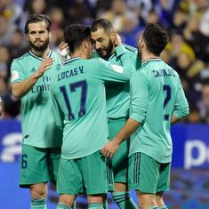 Real Madrid extend unbeaten run after thrashing Zaragoza to reach Copa del Rey quarter-finals