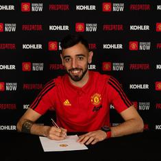 'Given everyone a boost': Bruno Fernandes has lifted the mood at Manchester Utd, says Solskjaer