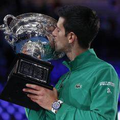 'Iron man' with 'nerves of steel': Twitter praises Djokovic's comeback win in Australian Open final