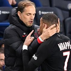 Nothing personal: PSG coach Thomas Tuchel plays down touchline spat with striker Kylian Mbappe