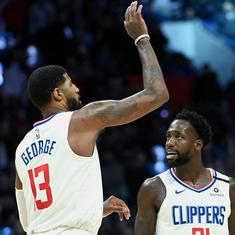 NBA wrap: George, Leonard combine to help Clippers beat Spurs; Heats post big win over 76ers