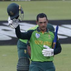 First ODI: De Kock hits century as South Africa beat England by seven wickets