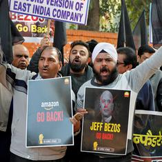 Before Indian government's snub to Jeff Bezos, a Delhi trader campaigned hard against him