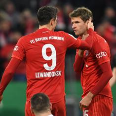 Bundesliga: Bayern Munich to miss suspended duo Muller and Lewandowski for potential title-clincher