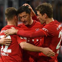 Coronavirus: Bayern Munich players among those in Bundesliga to take pay cuts to help clubs sustain