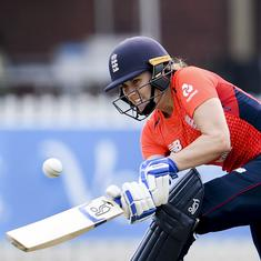 Women's Triangular T20 series: India let down by batting again as England win by four wickets