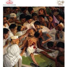 'Death of Gandhi' painting used on cover of Kerala Budget speech document