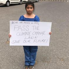 'Don't call me India's Greta Thunberg and erase my story': Eight-year-old Licypriya Kangujam
