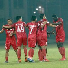 I-League: Matias Veron's goal helps Aizawl FC stun East Bengal