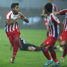 ISL: Roy Krishna's hat-trick helps ATK beat Odisha and book place in playoffs