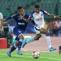 ISL: Bengaluru FC slip up in race for top spot after being held to goalless draw by Chennaiyin FC