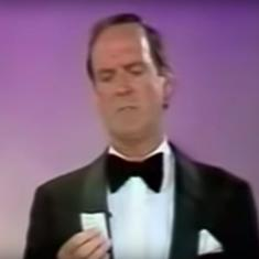 Watch: English actor John Cleese's hilarious acceptance speech for a BAFTA award in 1988