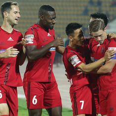 ISL: Leudo nets equaliser as Jamshedpur FC and NorthEast United share spoils in six-goal thriller