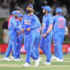 आखिरी वनडे में भी भारत हारा, न्यूजीलैंड ने 3-0 से सीरीज अपने नाम की