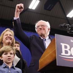 US: Senator Bernie Sanders wins New Hampshire primary, strengthens White House bid
