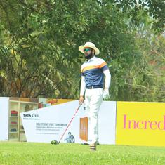 Golf: Ahlawat, Raj emerge halfway leaders at TATA Steel PGTI Players C'ships; Shubhankar tied 35th