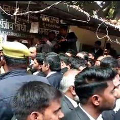 Blast at Lucknow court, at least three lawyers injured