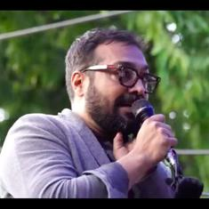 Watch: Film Director Anurag Kashyap visits Jamia University, Shaheen Bagh in solidarity