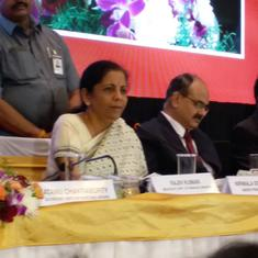 Nirmala Sitharaman says Centre has not set any time frame to remove income tax exemptions
