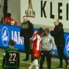 'Nazis out': Football fans unite against man who hurled racist slurs at a Ghanaian player in Germany