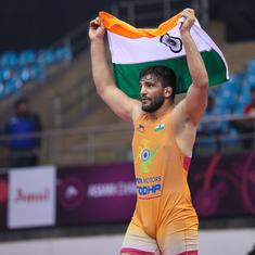 Greco-Roman wrestling: For Asian champion Sunil Kumar, the pandemic presents a very strange problem