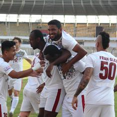 I-League: Rampant Mohun Bagan look to continue winning streak against struggling TRAU