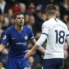 'VAR all over the place': Twitter outraged as Spurs's Lo Celso survives red card against Chelsea
