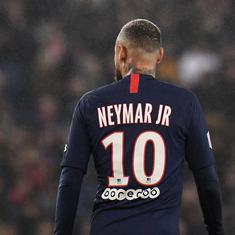 Ligue 1: Neymar sent off as PSG beat Bordeaux in seven-goal thriller