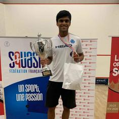 Squash: India's Yash Fadte beats Czech Marek Panachek to clinch French Junior Open Championship